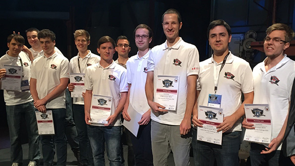 Team ACSC bei ECSC 2016