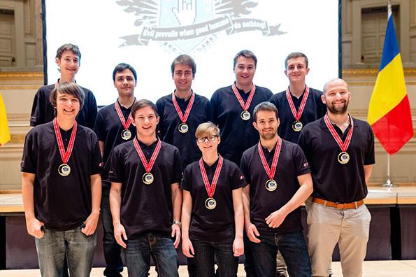 Siegerteam Austria ECSC 2015